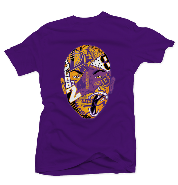 Black Mamba Purple Tee - Bobby Fresh
