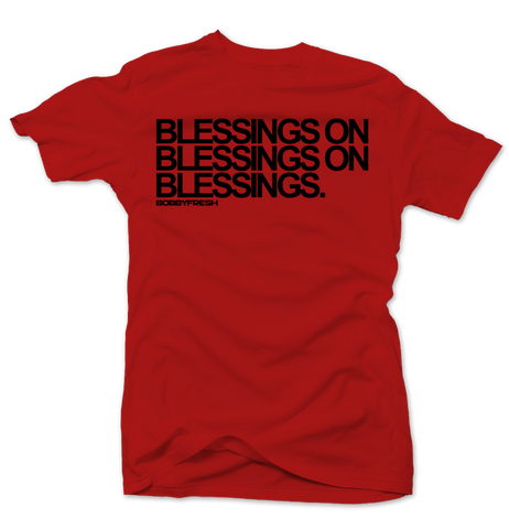Blessings Red Tee