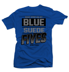 Blue Suede Blue Tee