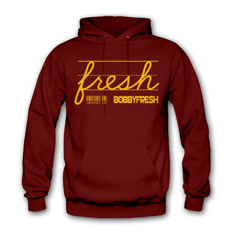 "Bobby Fresh x Jackpot Co. ""Fresh"" Crawfish Hoodie"