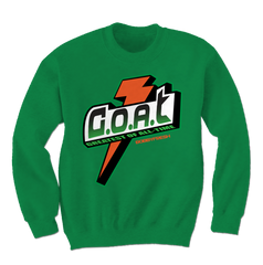 Bolt Green/Orange Crewneck