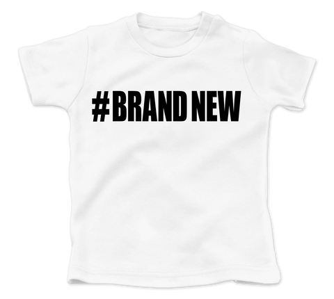 Brand New White Baby Fresh Tee