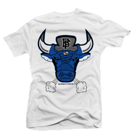 Bulls 5 White/Blue Tee - Bobby Fresh