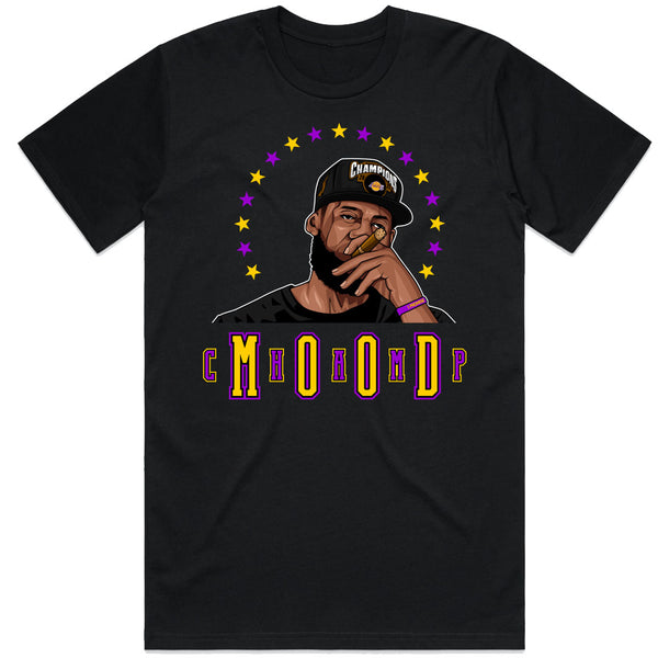 Mood Black Tee - Bobby Fresh