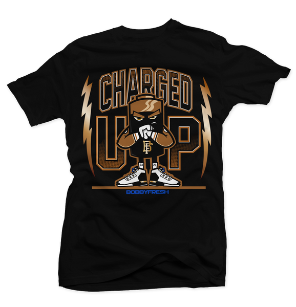 Charged Black Tee