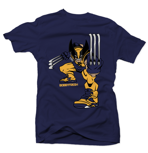 Claws Navy Tee