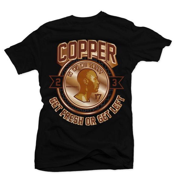 Copper Black Tee