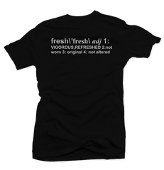 Definition of Fresh Black Tee