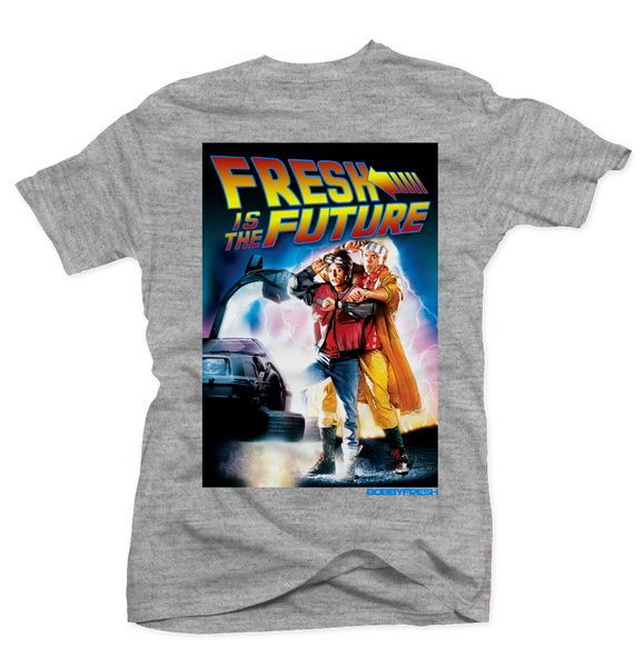 Doc & Marty Heather Tee