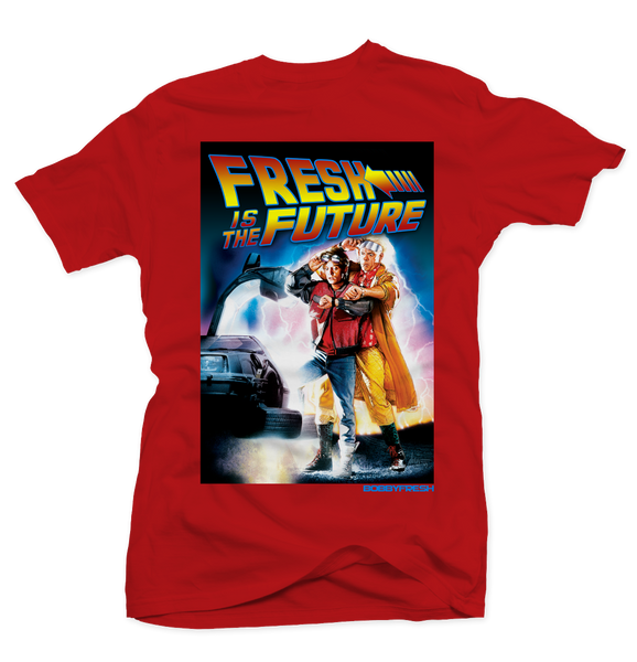 Doc & Marty Red Tee