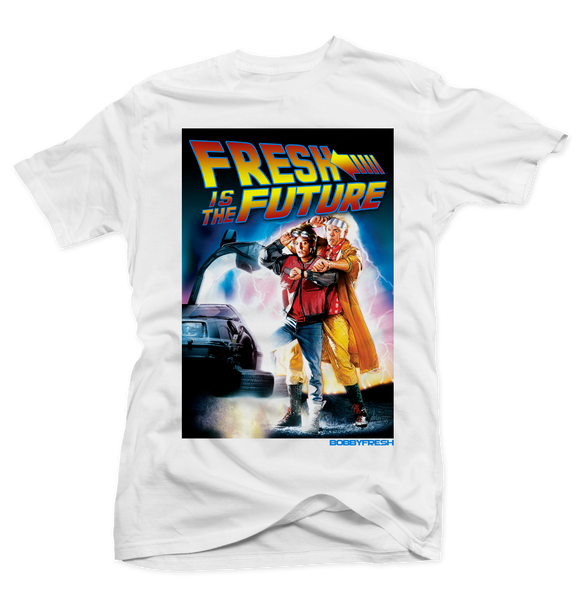 Doc & Marty White Tee