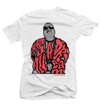 Dream BIG White/Infrared Tee - Bobby Fresh