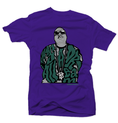 Dream Big Bucks 7s Purple Tee