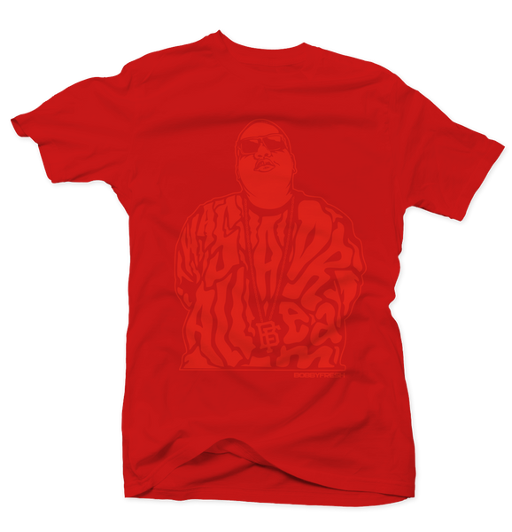 Dream Big Red/Red Tee