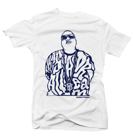 Dream Big UNC 9 White Tee