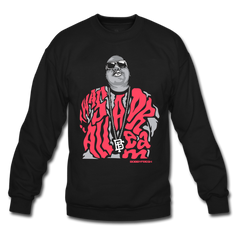 Dream BIG Black/Infrared Crewneck