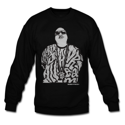 Dream Big Oreo Black Crewneck