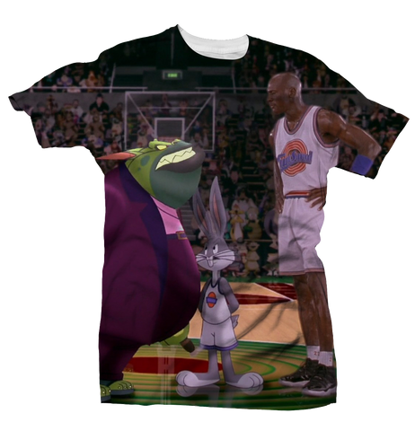 Face Off Space Jam All Over Tee