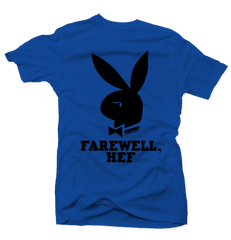 Farewell Hef Royal/Black Tee