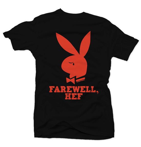 Farewell Hef Black/Orange Tee