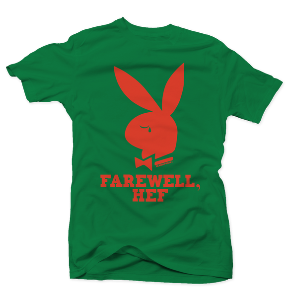 Farewell Hef Green/Orange Tee