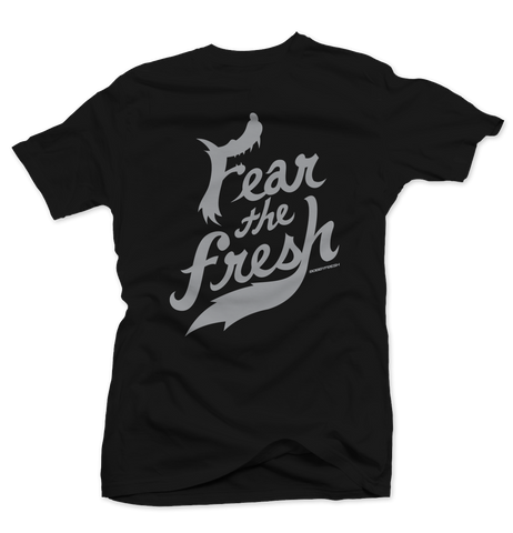 Fear the Fresh Black/Wolf Grey Tee