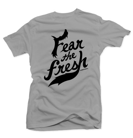 Fear the Fresh Silver/Wolf Grey Tee