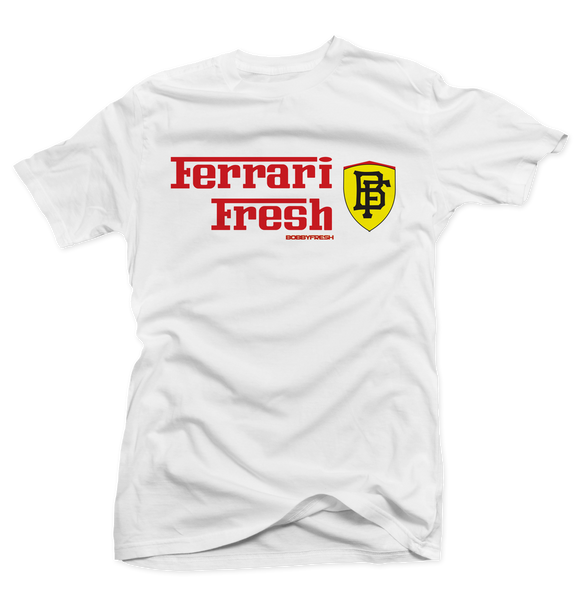 Ferrari Fresh White Tee