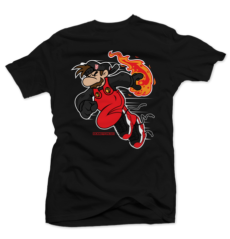 Fireball Black Tee