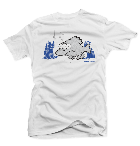 Fisheye Sport Blue White Tee