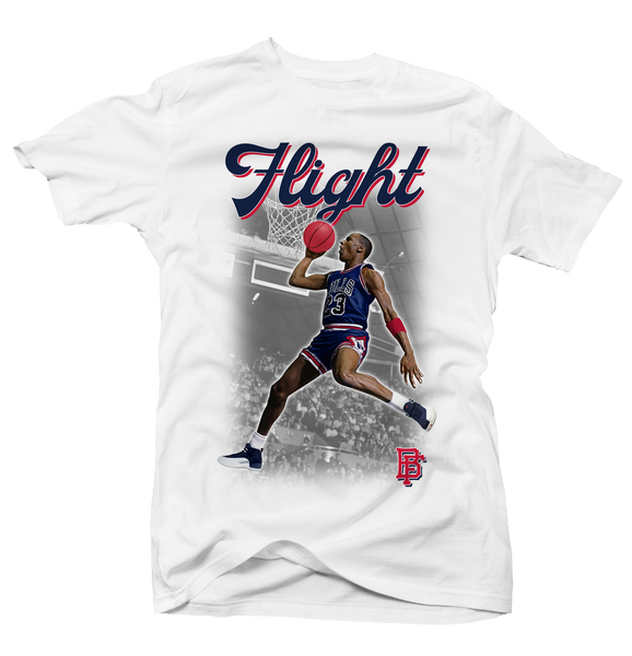 Flight White International 12's Tee