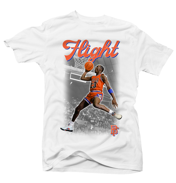 Flight White Tee