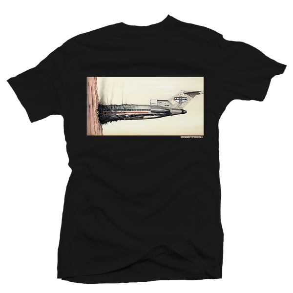 Fly Boys Black Tee