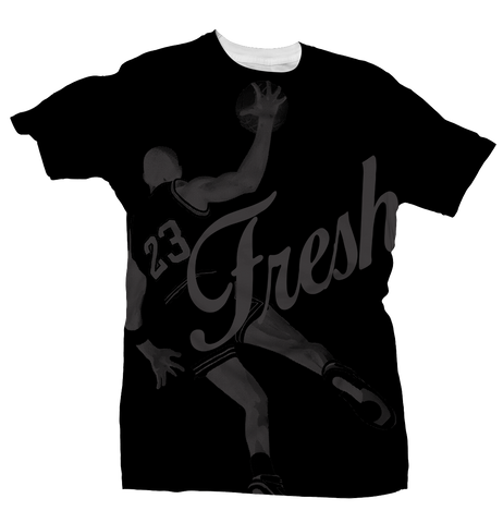 Fresh 23 Pinnacle 5 Black Tee