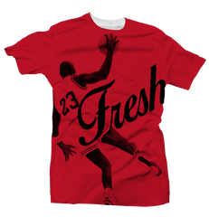 Fresh 23 All Over Red/Black Tee