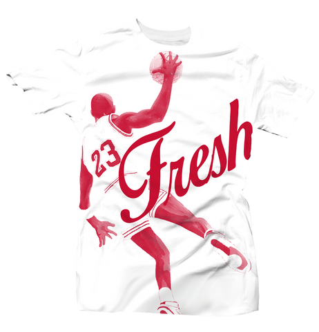 Fresh 23 History of Flight White Tee
