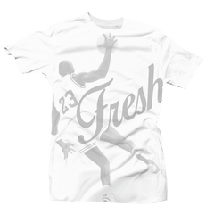 Fresh 23 All Over White/Grey Tee