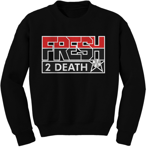Fresh 2 Death Black Cement Crewneck