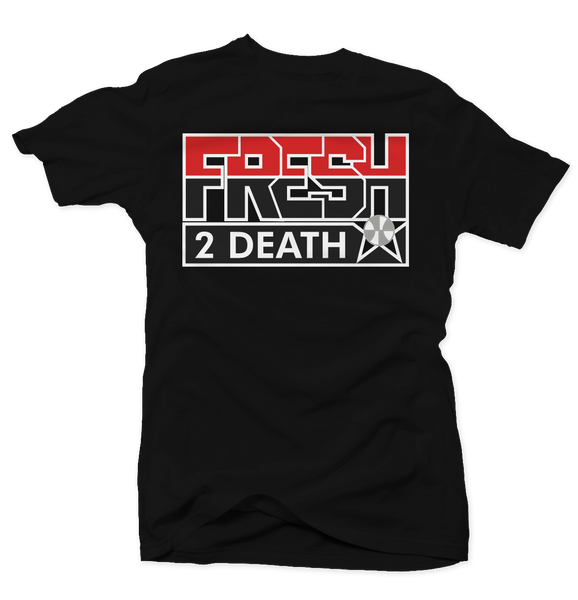 Fresh 2 Death Black Cement Tee