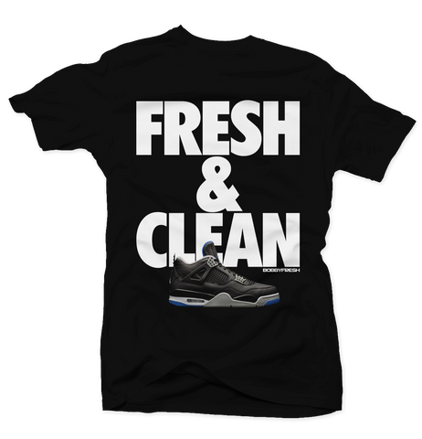 Fresh & Clean Black Tee