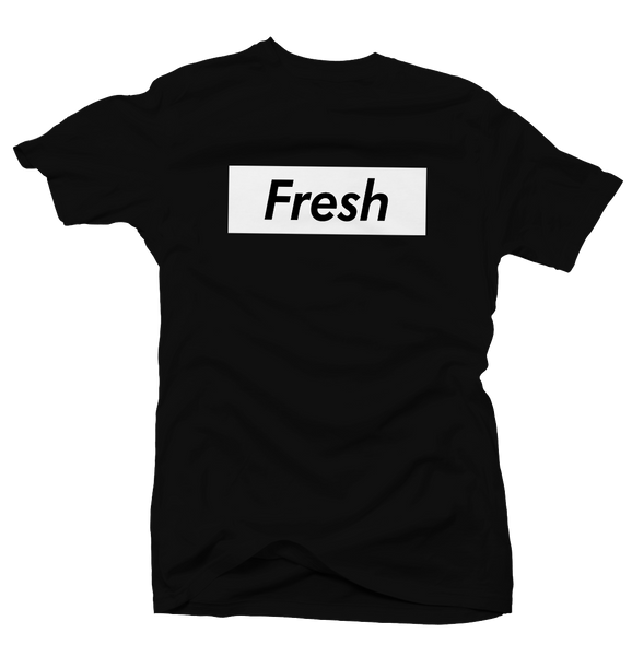 Fresh Box Black Tee (Reverse He Got Game)