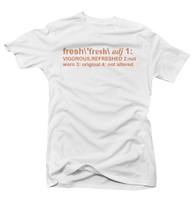 Definition of Fresh Clay 350's White Tee - Bobby Fresh