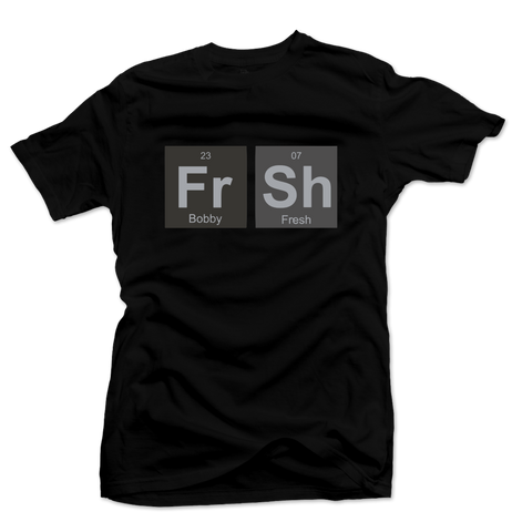 Fresh Elements Black/Black Tee