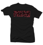 Fresh Lava Bright Crimson Black Tee - Bobby Fresh