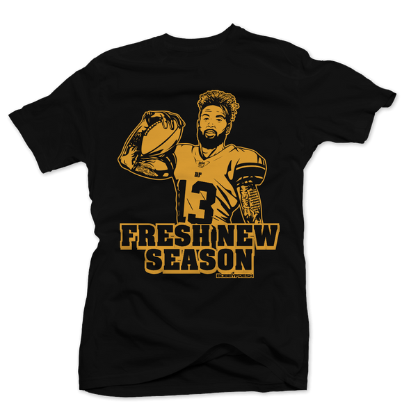 "Fresh New Season Black ""Back to School 13"" Tee"