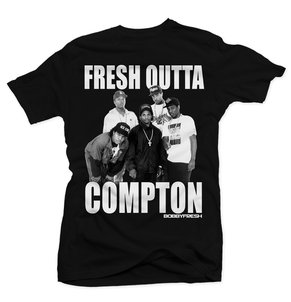 Fresh Outta Compton Black Tee