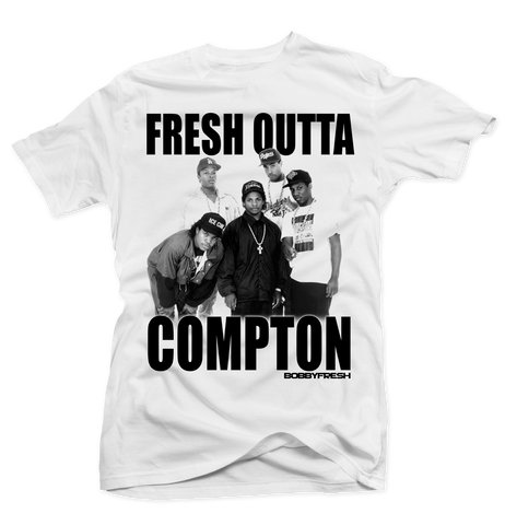 Fresh Outta Compton White Tee