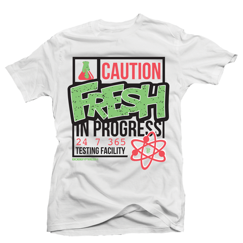 Fresh Test Poison White Tee