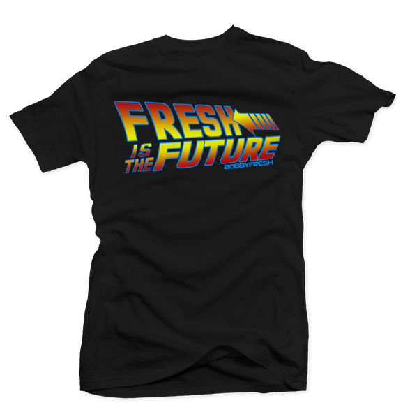 Fresh to The Future Black Tee