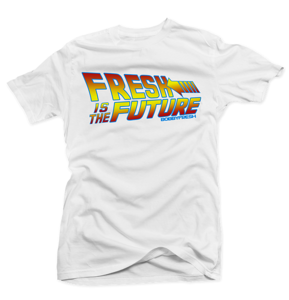 Fresh to The Future White Tee
